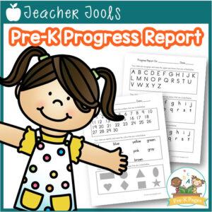 Pre-K Progress Report