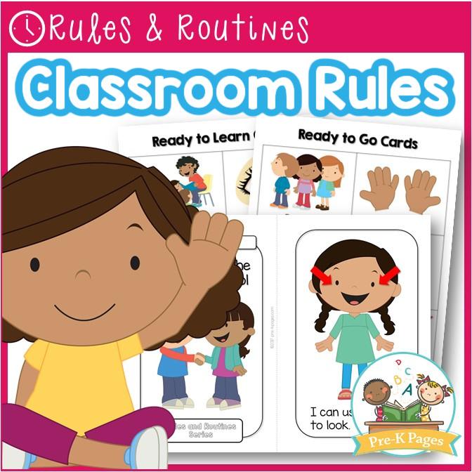 Pre-K Class Rules