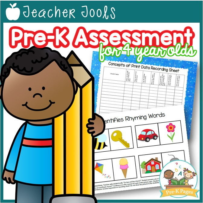 Pre-K Assessment Forms