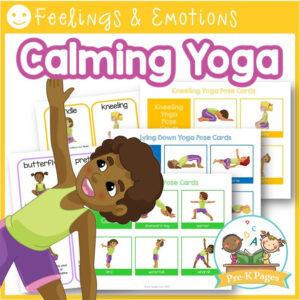Kids Yoga Printables