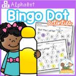 Bingo Dot Alphabet Worksheet activities