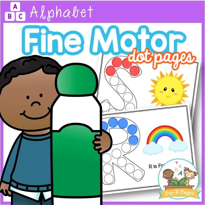 Bingo Dot Alphabet Worksheets