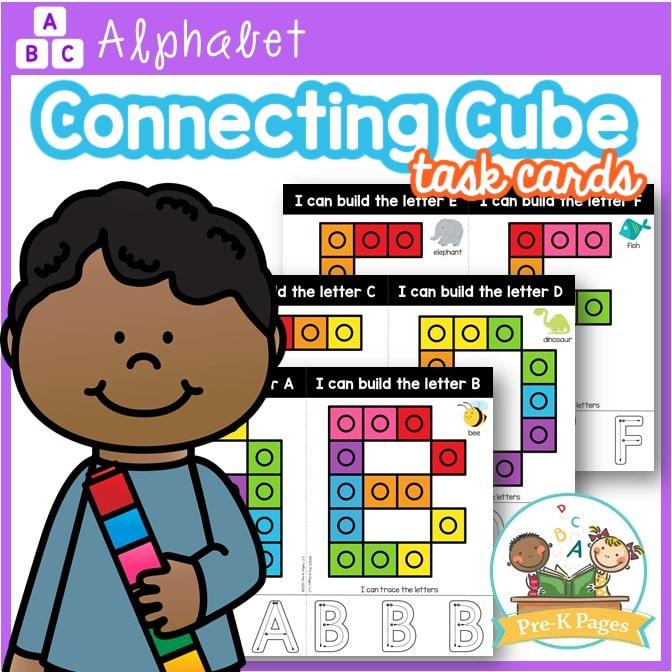 Alphabet Snap Block Cards Uppercase