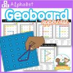 Alphabet Geoboard Letter Mats