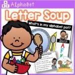 Letter Soup Alphabet Recognition Activity