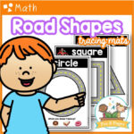 Road Shapes Tracing Mats
