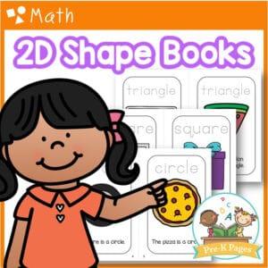 2D Shapes Books