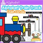 Alphabet Train Track Letter Mats