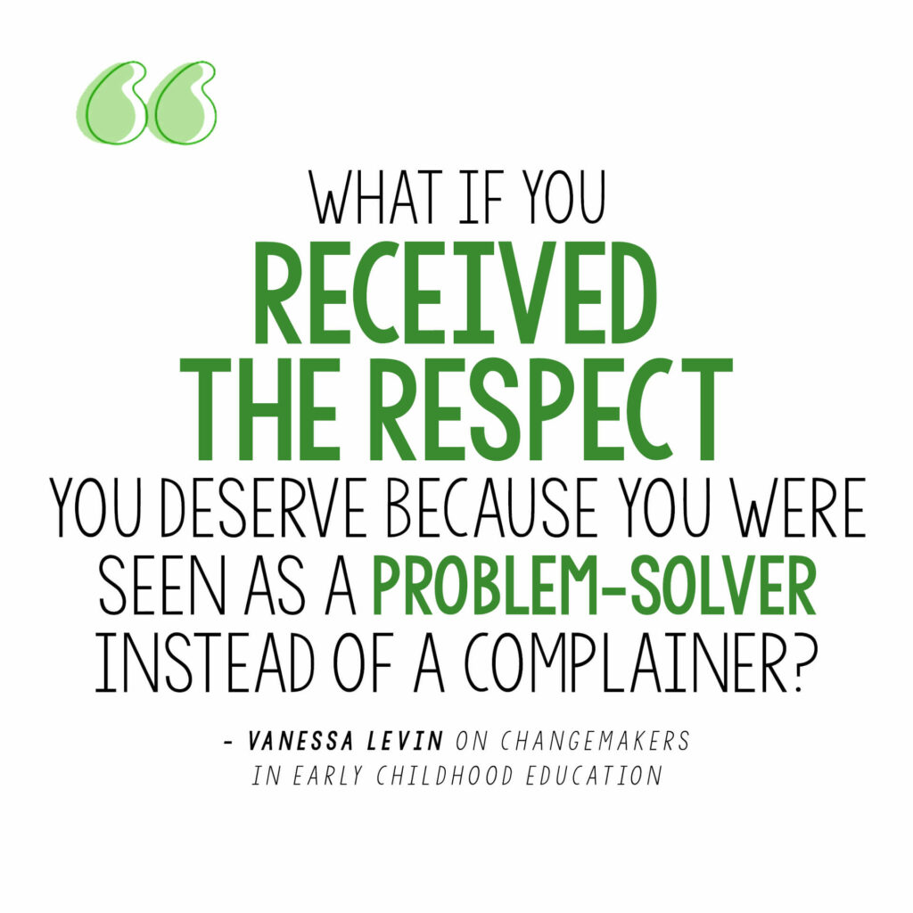 Vanessa Levin Quote on being a problem-solver instead of a complainer