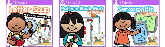 Alphabet Lessons for Preschool