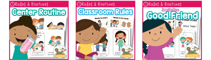 Classroom Rules and Routines for Preschool