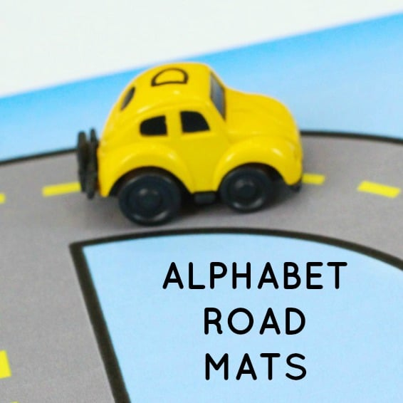 Alphabet Road Letter Mats