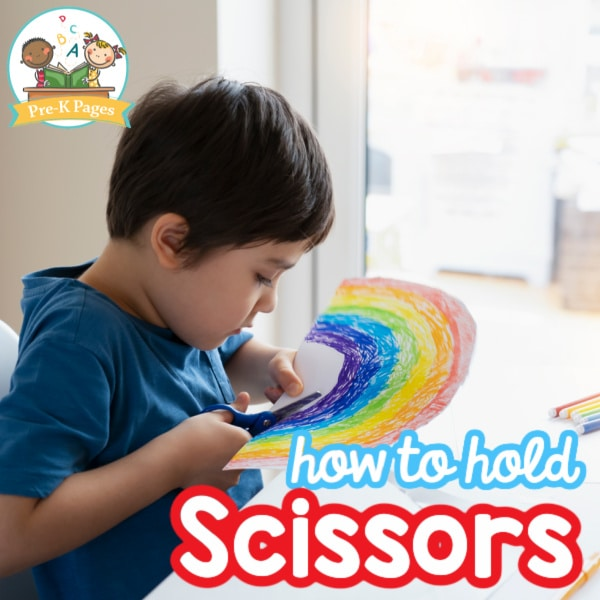 How to Hold Scissors