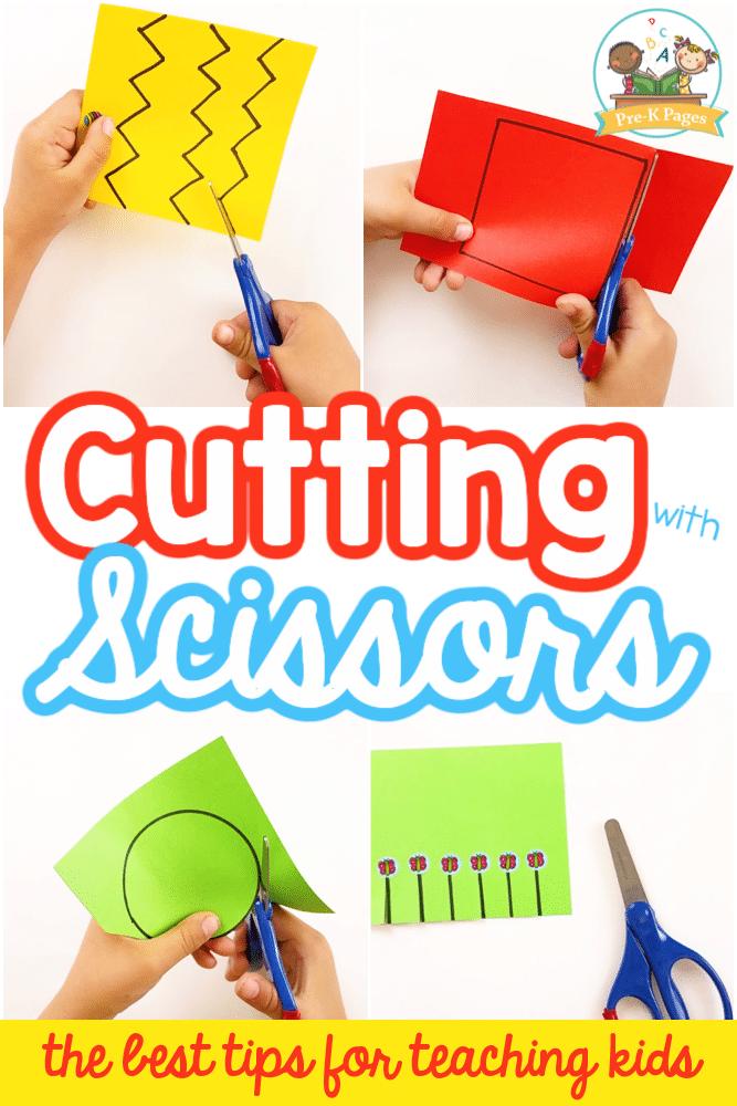 Teach Cutting Skills with Scissors