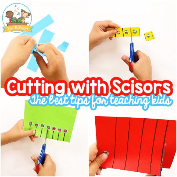 Teach Cutting with Scissors