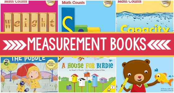 Measurement Books for Preschool and Pre-K