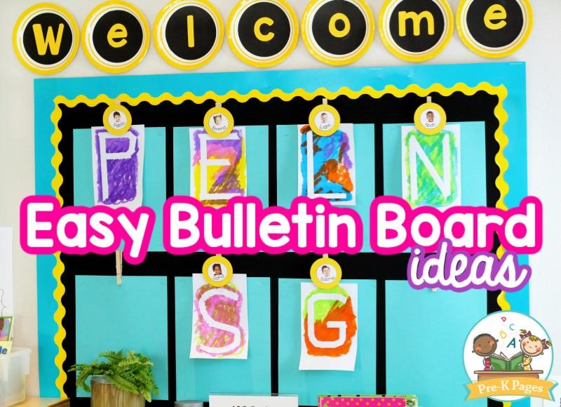 Easy Bulletin Board Ideas