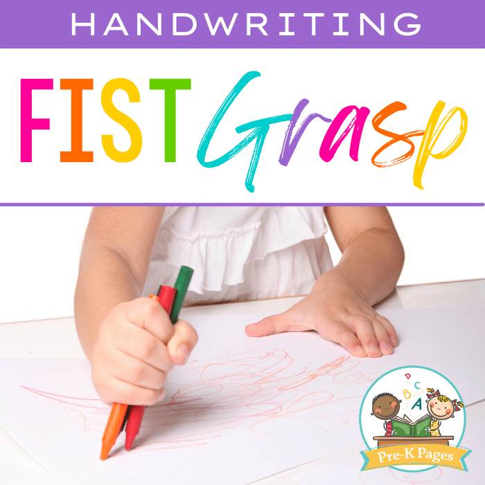 Fist Grasp Writing