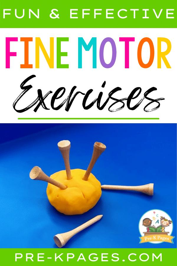 Fun Fine Motor Exercises
