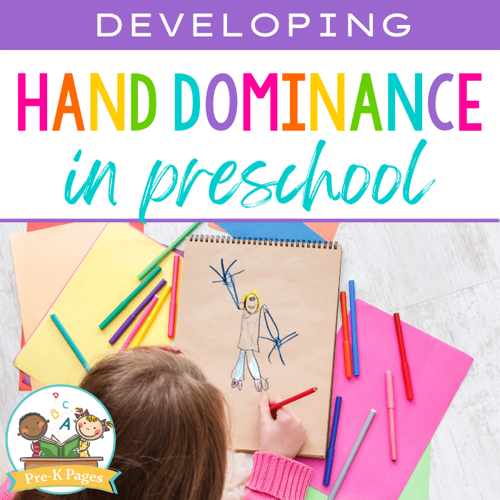 How kids develop a dominant hand