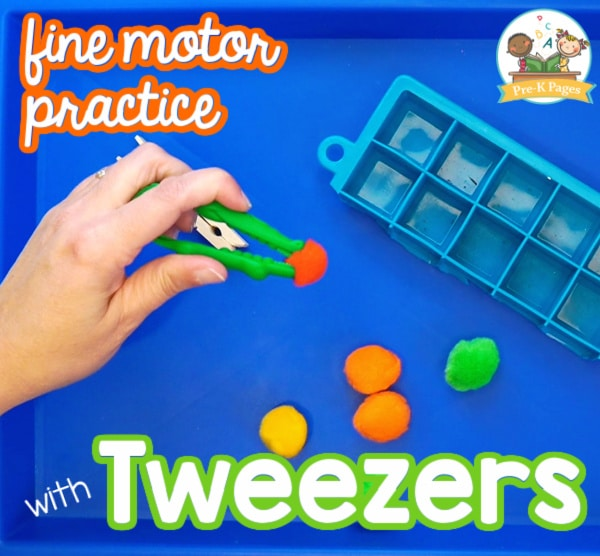 Tweezers for Fine Motor Practice