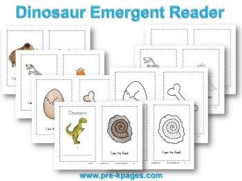 dinosaur-emergent-reader
