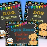 Dog Back to School Timeaving Bundle