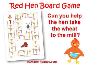 little-red-hen-board-game
