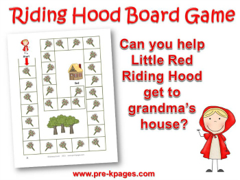 Little Red Riding Hood Math Preview