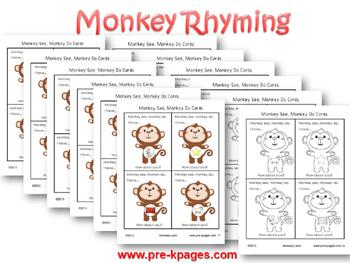 monkey-rhyming-game