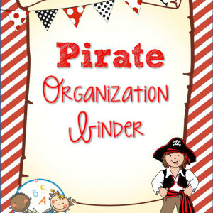 Pirate Organization Binder