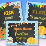 Fish Theme Back to School Timesaver Bundle