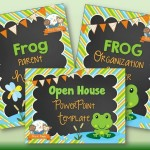 Frog Theme Back to School Timesaving Bundle