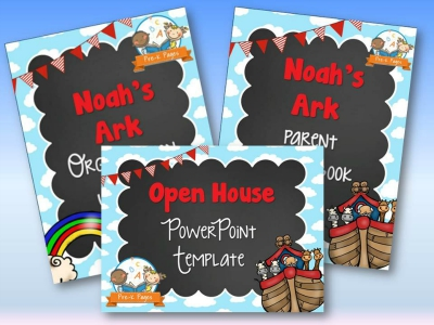 Noah's Ark Back to School Timesaving Bundle
