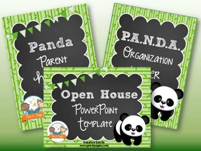 Panda Back to School Timesaving Bundle