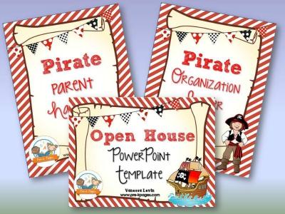Pirate Back to School Timesaving Teacher Bundle