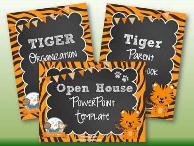 Tiger Back to School Timesaving Bundle