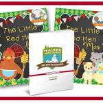 Little Red Hen Printable Lesson Plans for Preschool