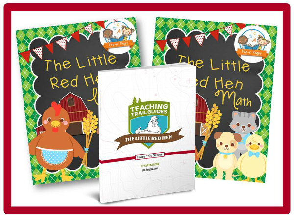Little Red Hen Printable Lesson Plans for Preschool