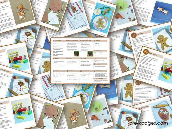 Gingerbread Man Lesson Plan Bundle