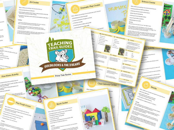Goldilocks and the Three Bears Lesson Plan Collage