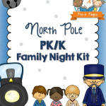 North Pole Theme Family Literacy Night for Preschool and Kindergarten