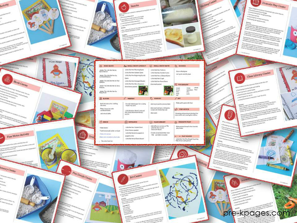 Little Red Hen Lesson Plan Bundle Preview
