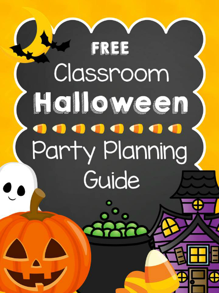 Halloween Classroom Party Planner - halloween activities for preschoolers