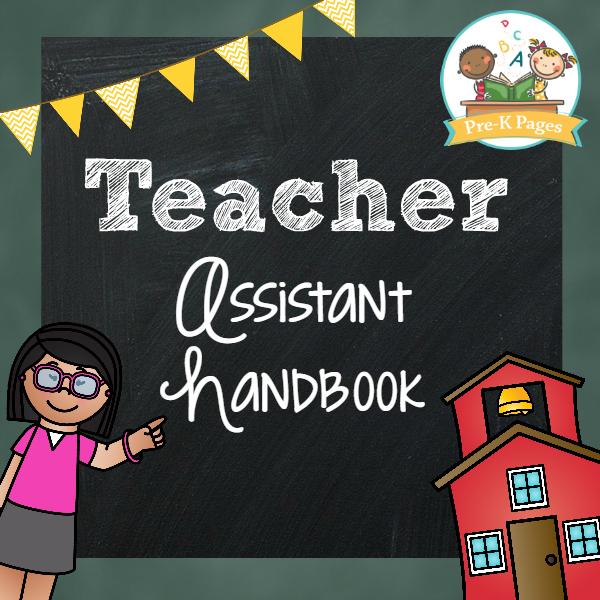 teacher assistant packet pre k pages