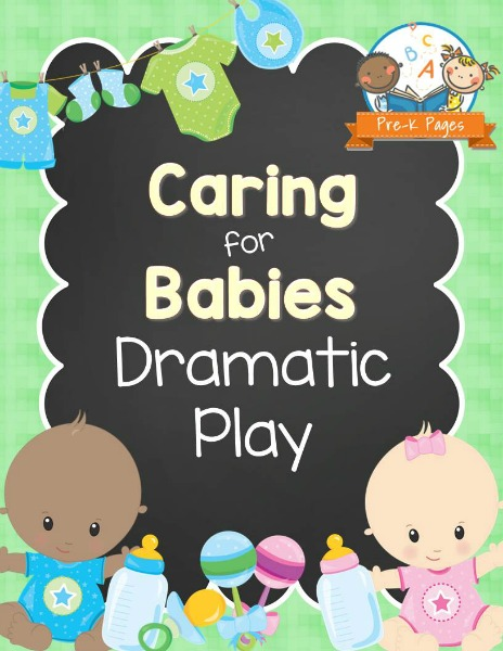 Dramatic Play Baby Nursery Printables