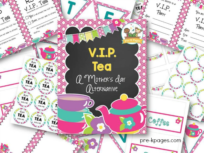 VIP Tea: A Mother's Day Alternative for Preschool and Kindergarten