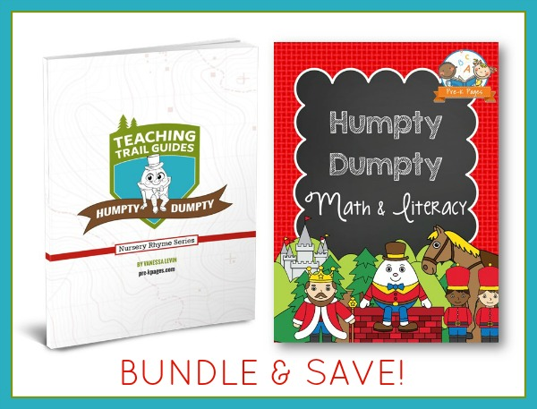 Humpty Dumpty Lesson Plan Bundle for Preschoolers