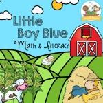 Little Boy Blue Nursery Rhyme Theme Printables for Preschoolers