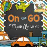 Printable Transportation Theme Math Activities for Preschool